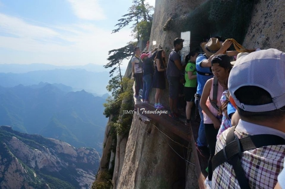 Mount Hua, Shaanxi Province, China